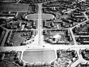 Aerial view of Green End Road